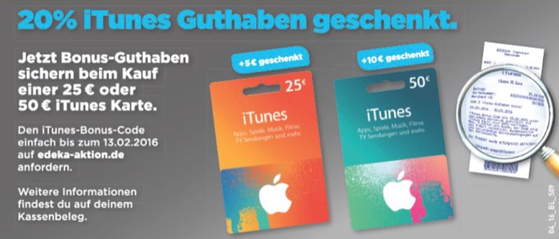 iTunes Bonus