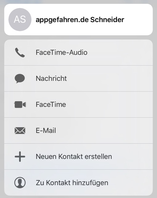 3d touch mail