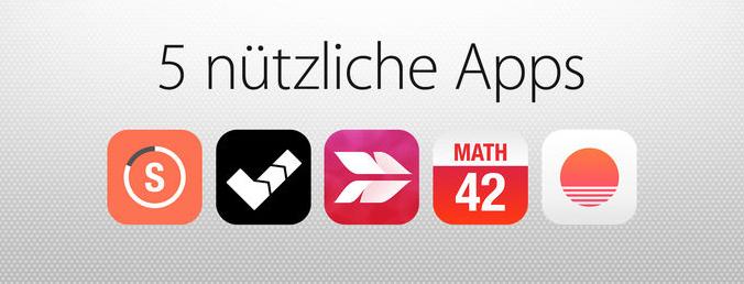 5 nuetzliche Apps