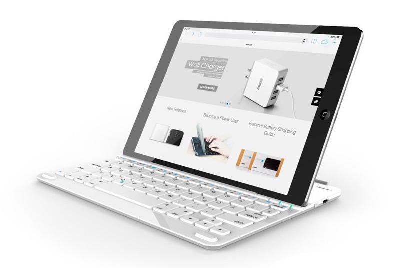 Anker iPad Tastatur