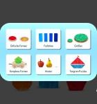 Die kleine Raupe Nimmersatt Farben und Formen 1