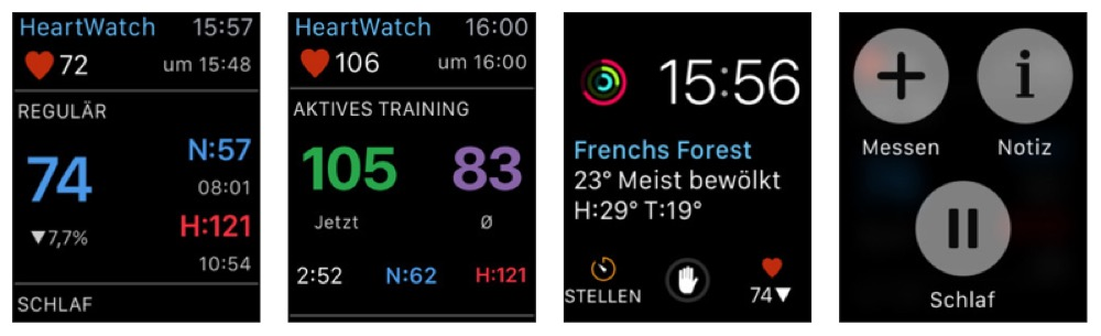 HeartWatch Apple Watch