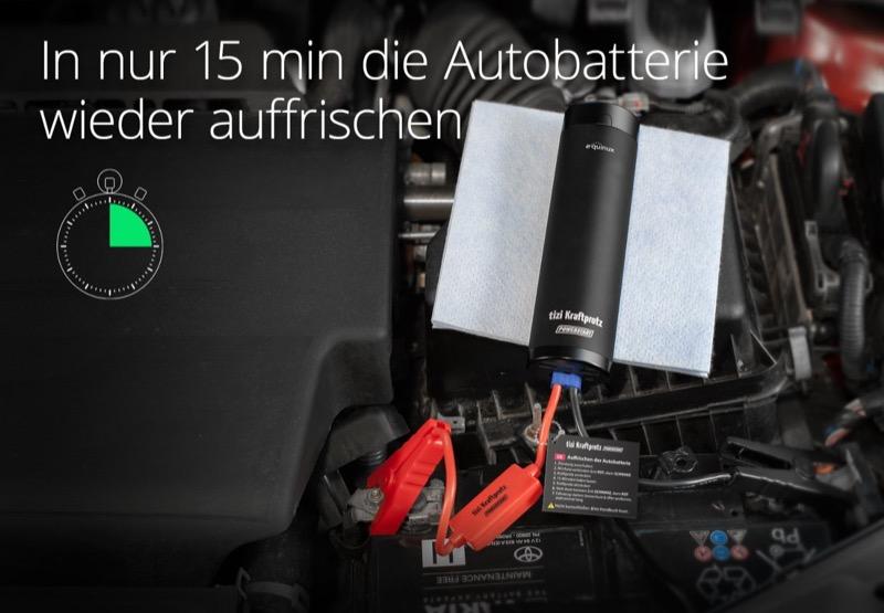 Tizi Kraftprotz Powerstart Auto