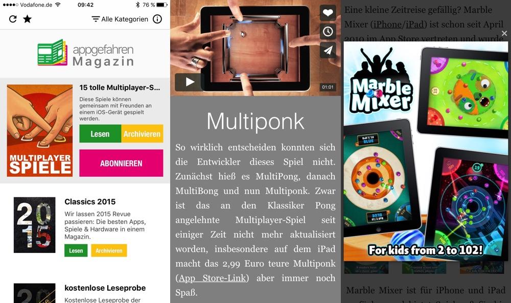 appgefahren Magazin Multiplayer Spiele