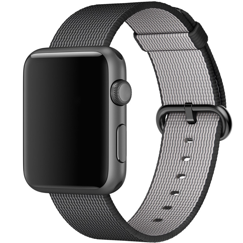 Apple Watch Armband aus gewebtem Nylon 1