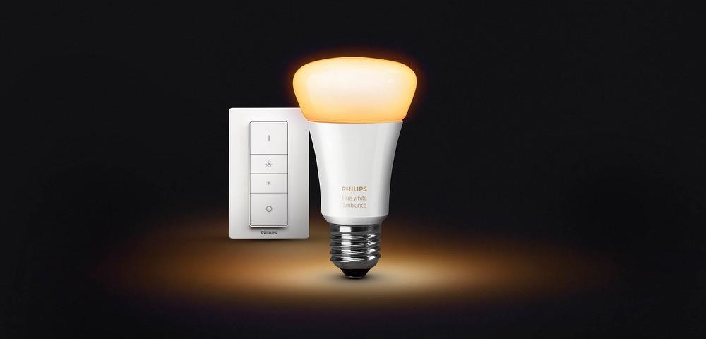 Philips Hue white ambiance schalter