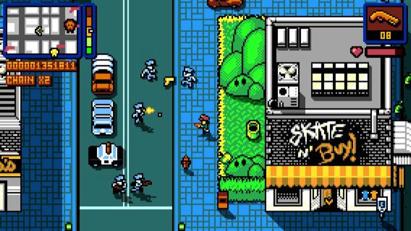 Retro City Rampage DX 2