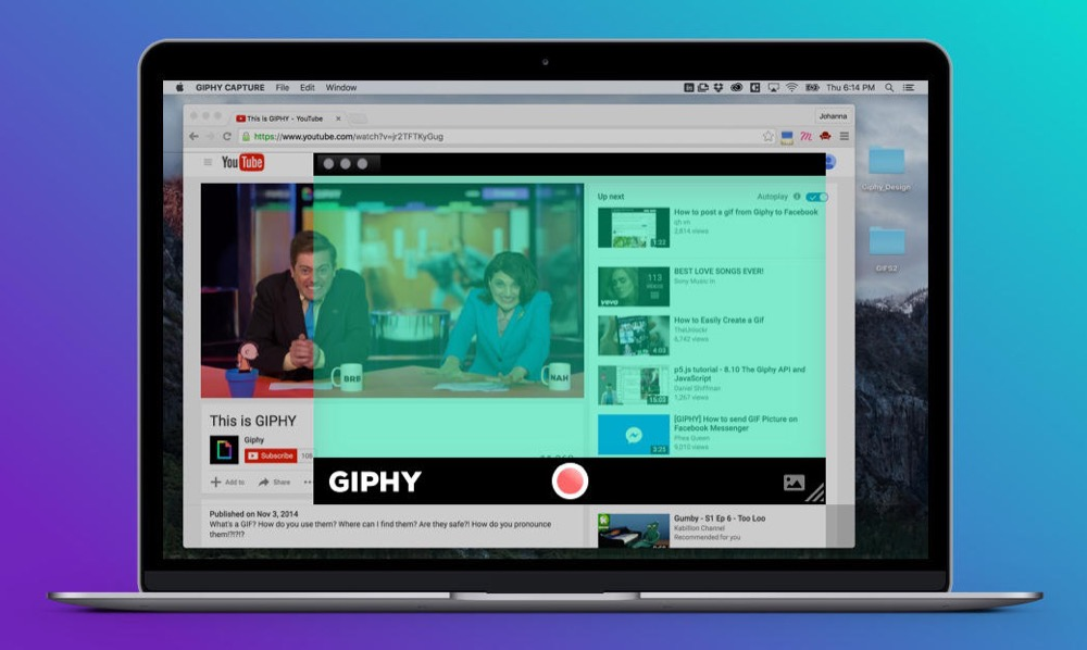 Giphy Capture Mac