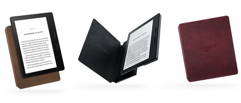 Kindle Oasis alle farben