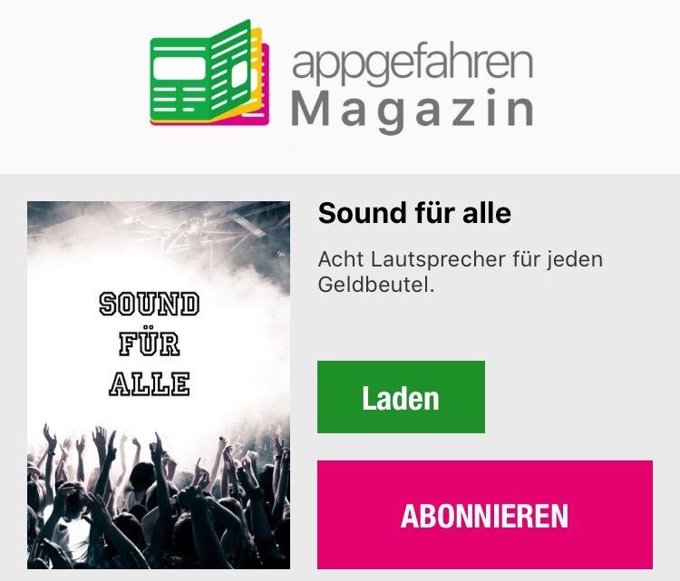 appgefahren Magazin Sound
