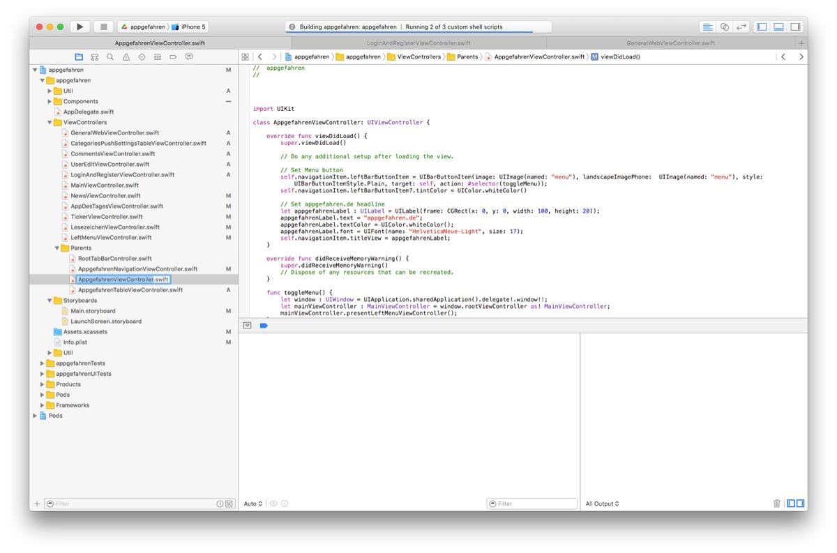 appgefahren-xcode
