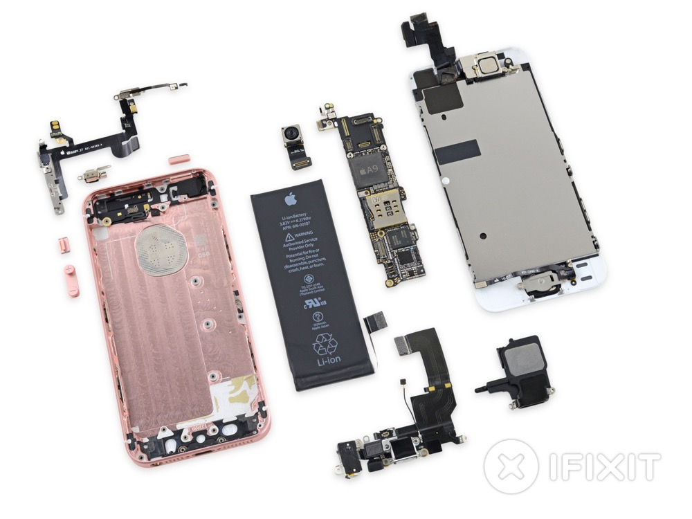 ifixit iphone se