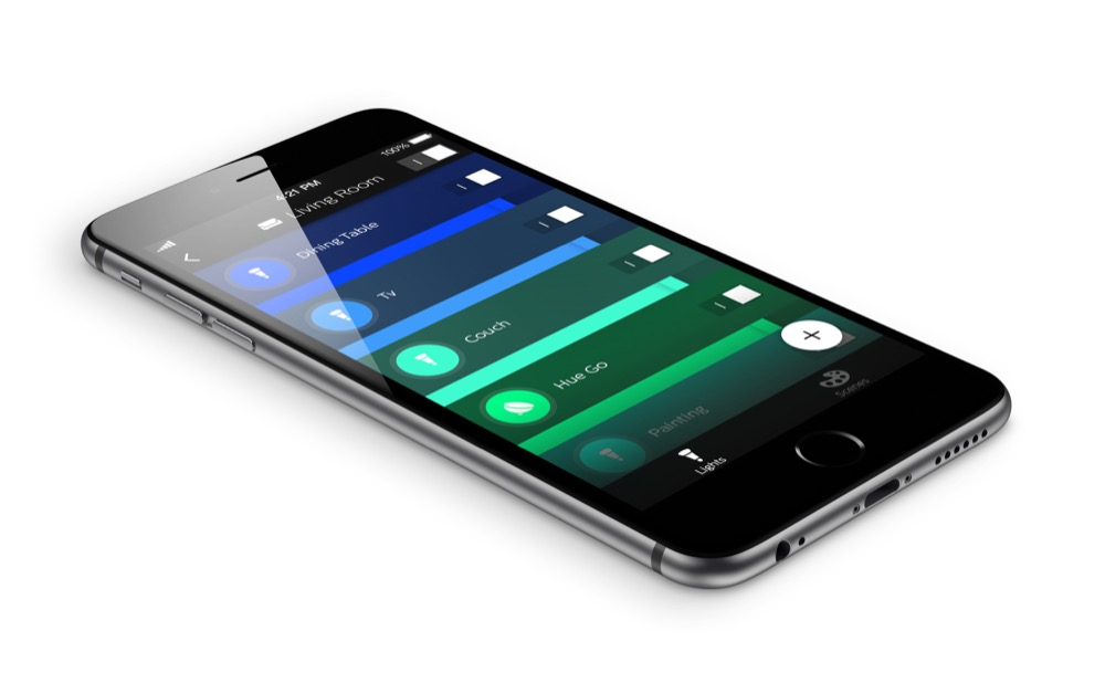 philips hue neue app f r iphone und ipad im app store. Black Bedroom Furniture Sets. Home Design Ideas