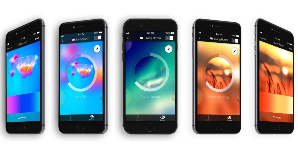 philips hue neue app