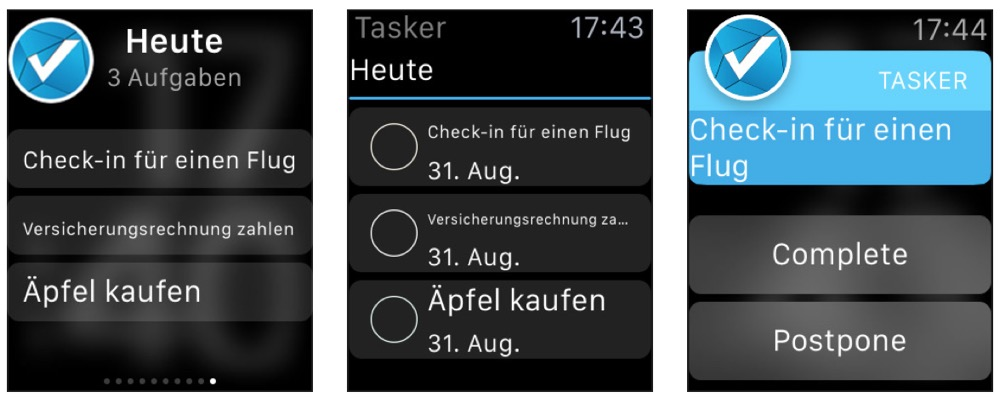 tasker apple watch
