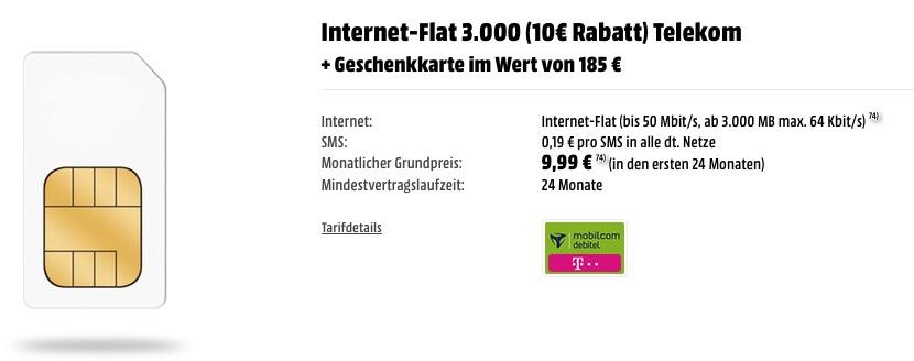 telekom flat 3000