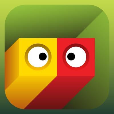 Eyes Cube Icon