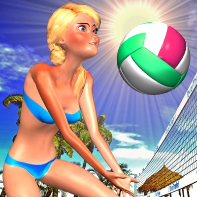 Over The Net 3D Icon
