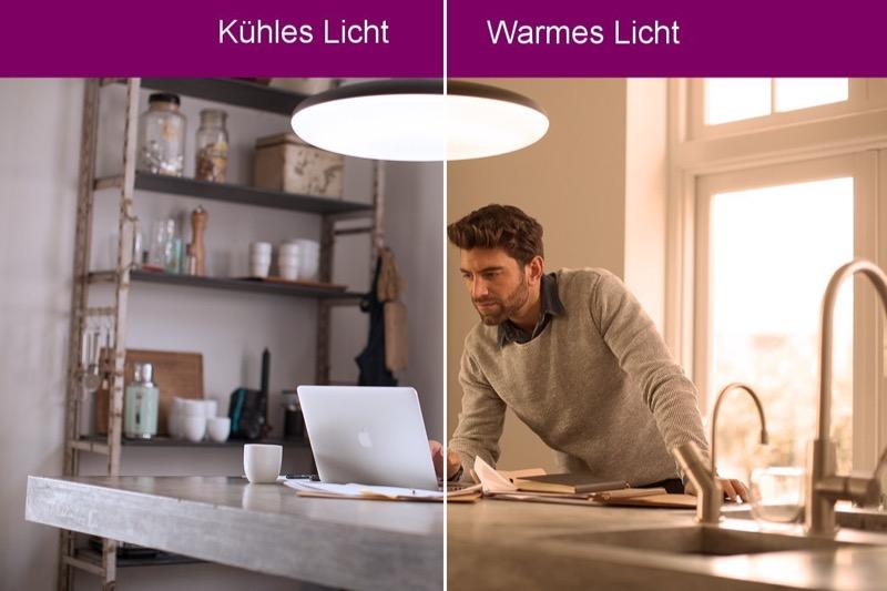Philips Hue White Ambiance Beispiel
