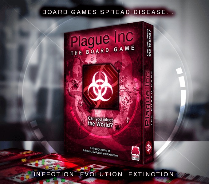Plague Inc Brettspiel