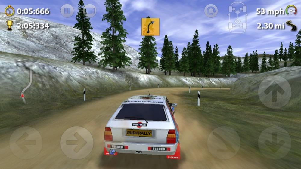 Rush Rally 2 auto