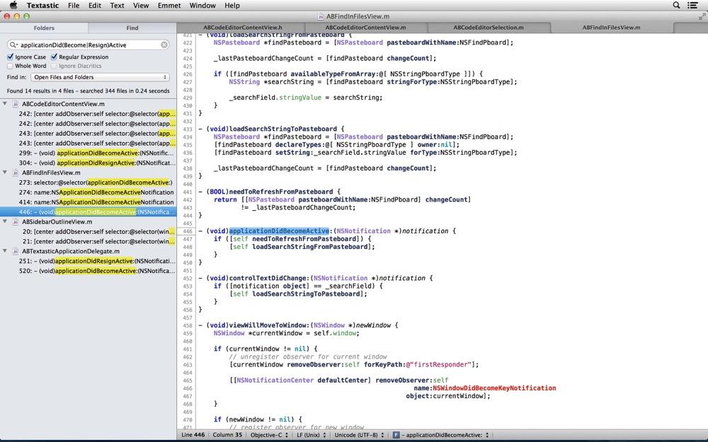 Textastic mac 2