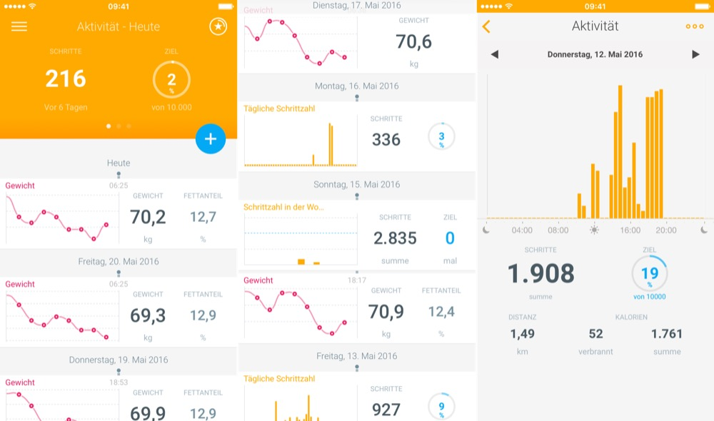health mate withings go