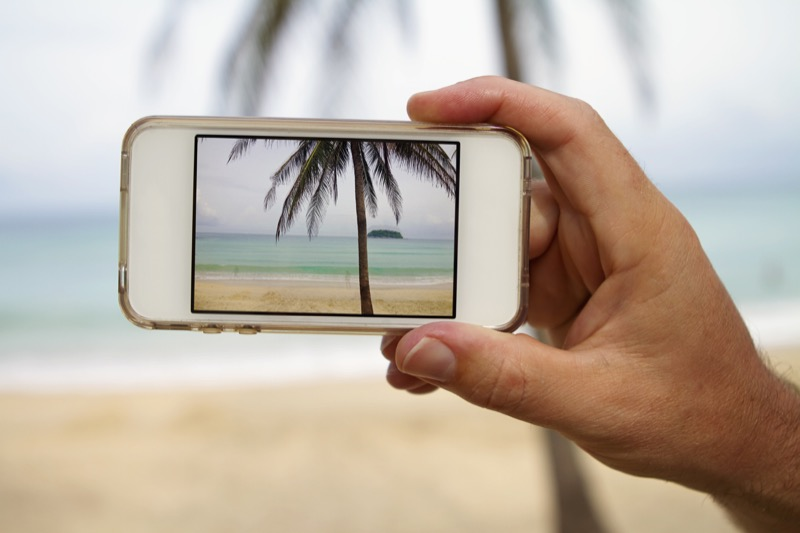 iPhone Kamera Strand