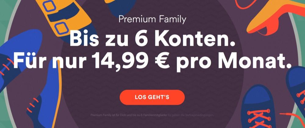 Spotify Prüft Adressen Der Familien-Accounts