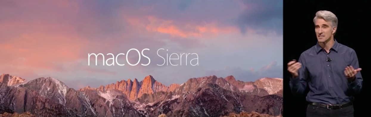 Apple Keynote macoS Sierra