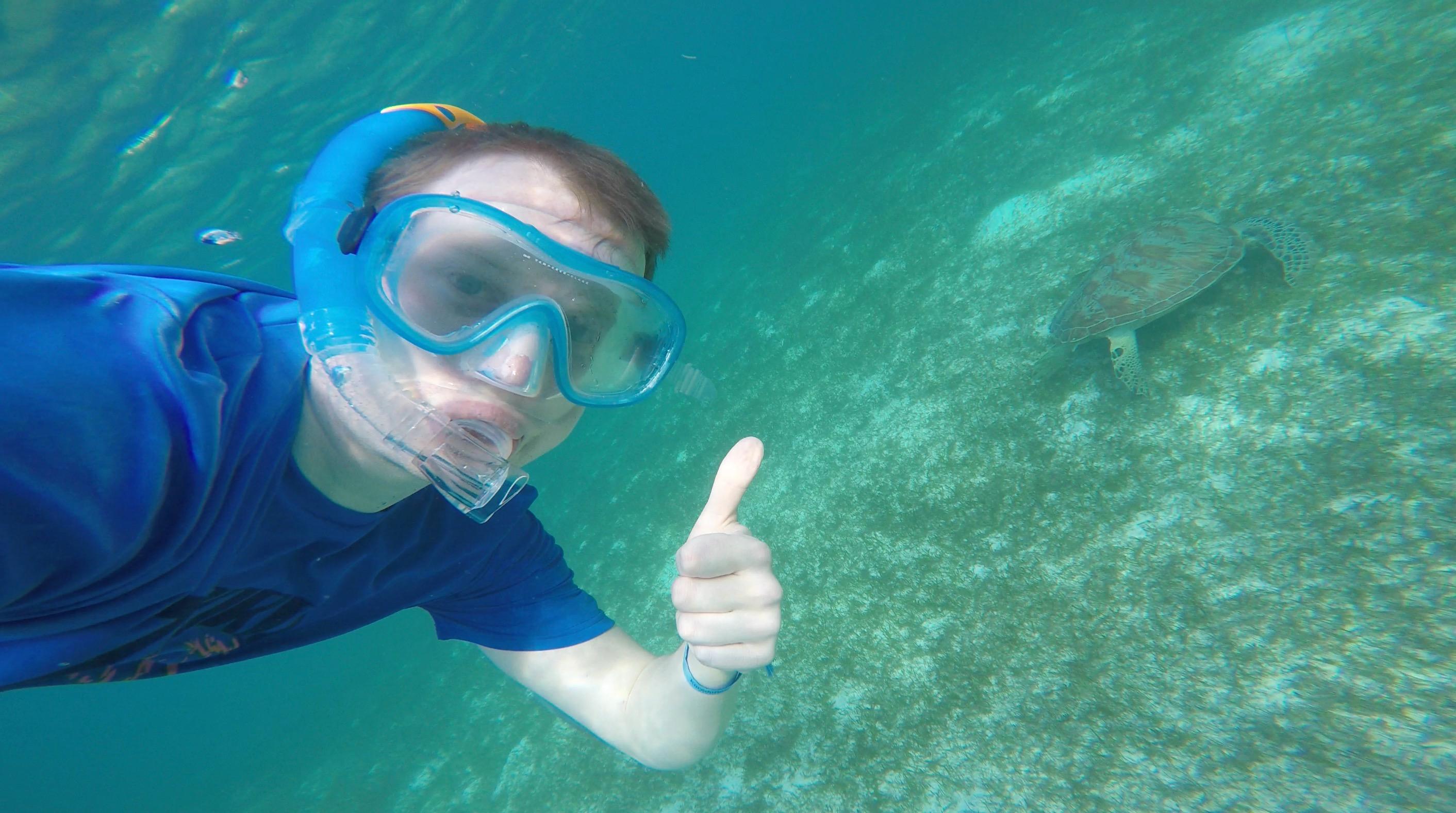 GoPro Unterwasser
