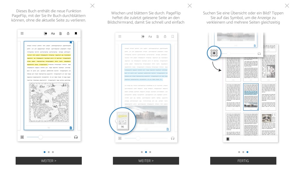 Kindle PageFlip