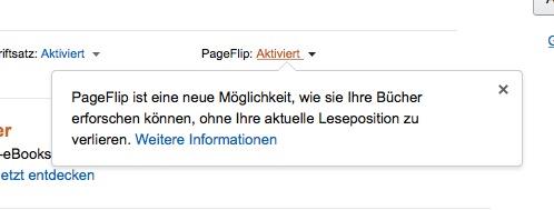 PageFlip Info