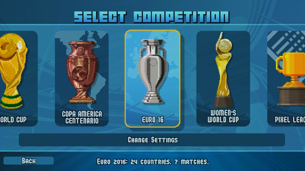 Pixel Cup Soccer 16 elfemter cups