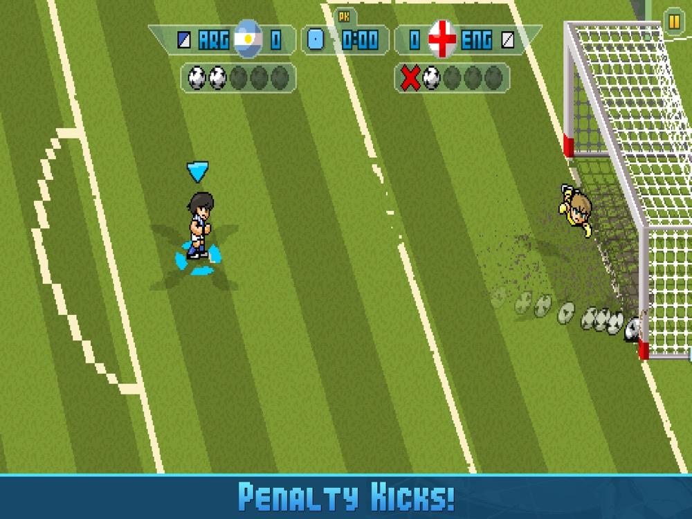Pixel Cup Soccer 16 elfemter