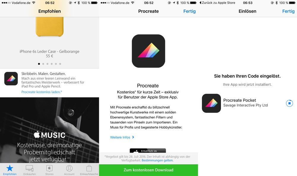 Procreate Apple Store