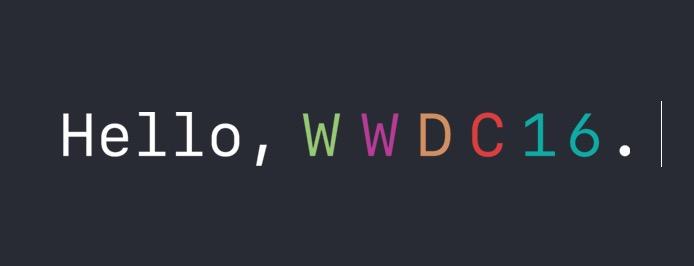 WWDC 2016 Banner