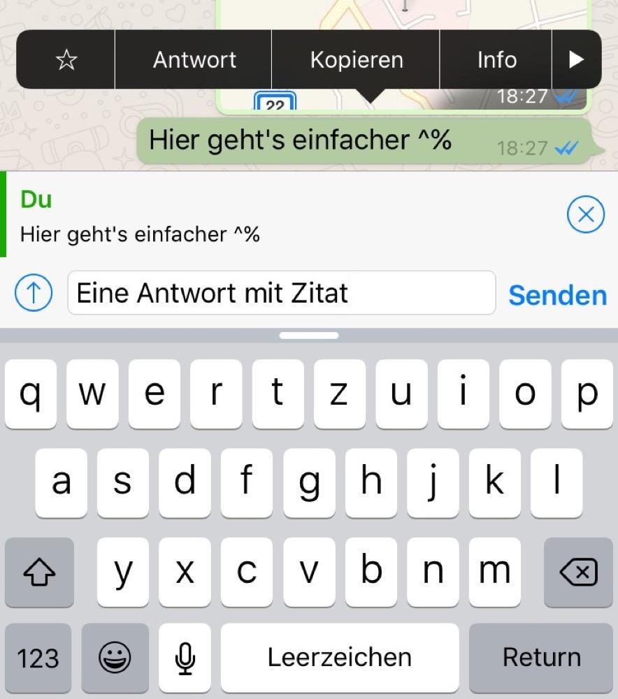 whatsapp zitat
