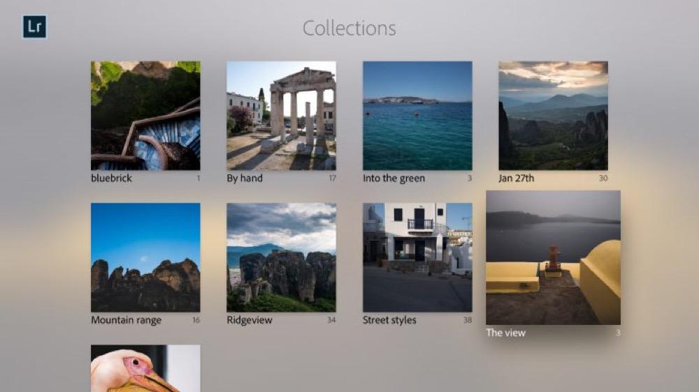 Adobe Lightroom Apple TV