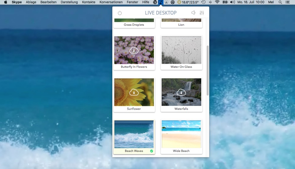 Live Desktop Mac