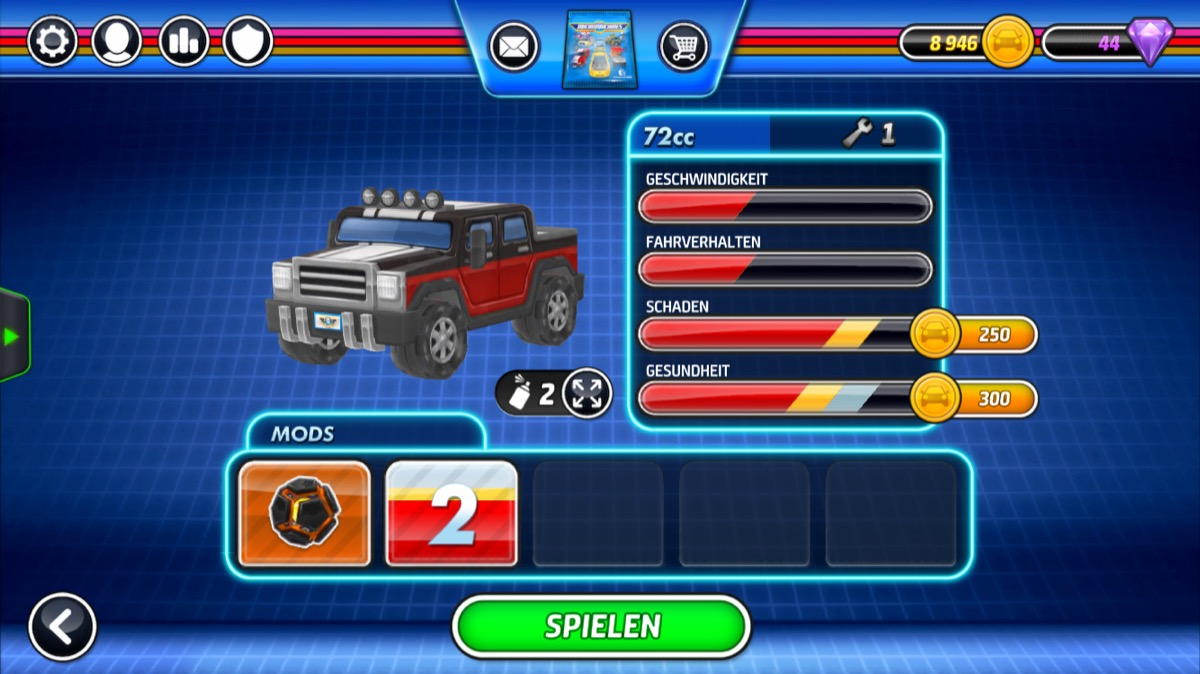 Micro Machines car