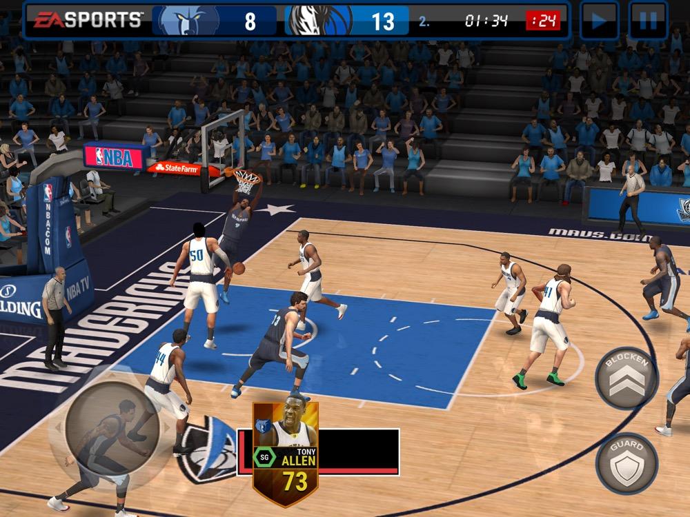 NBA Live Mobile 1