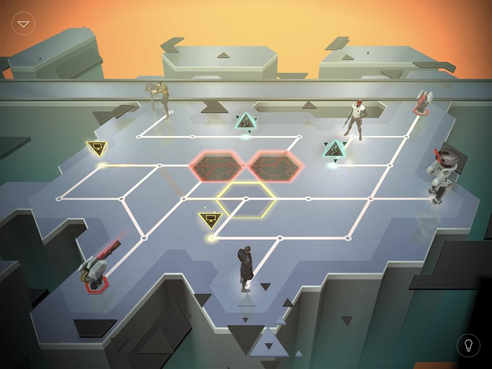 Deus Ex Go Level 54