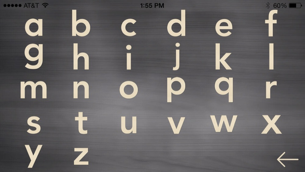 Einfuehrung in die Buchstaben 2