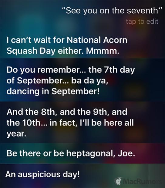 Siri Antworten