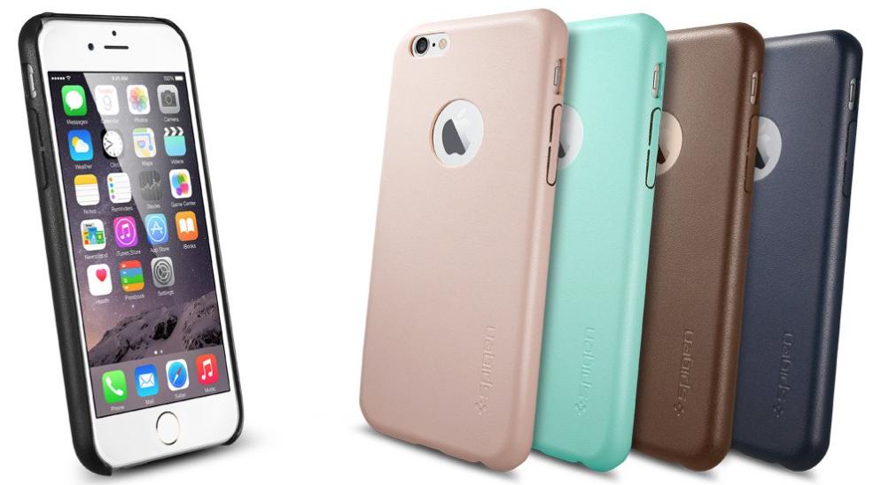 Spigen Leather Fit iPhone 6s