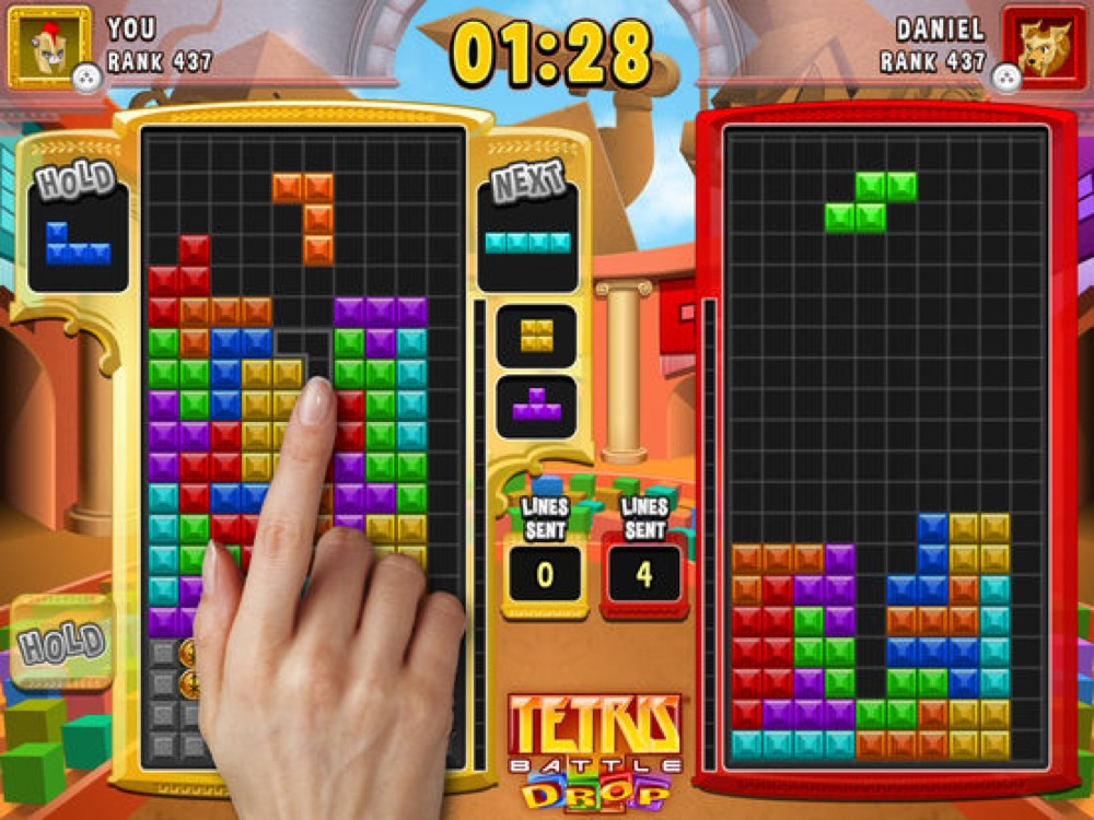 Tetris Battle Drop