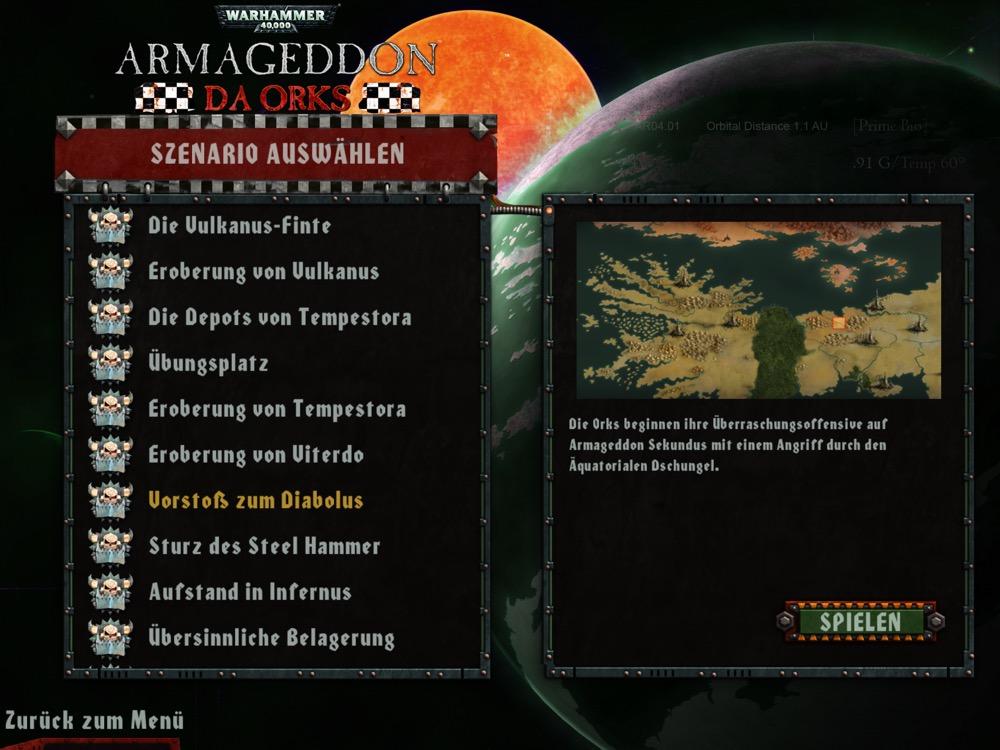 Warhammer 40000 Armageddon Da Orks 2