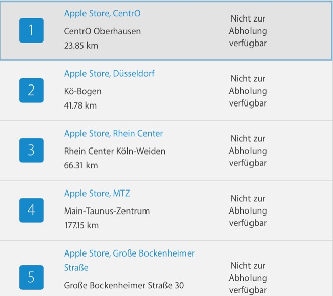 Apple Watch Series 2 Bestellung 2
