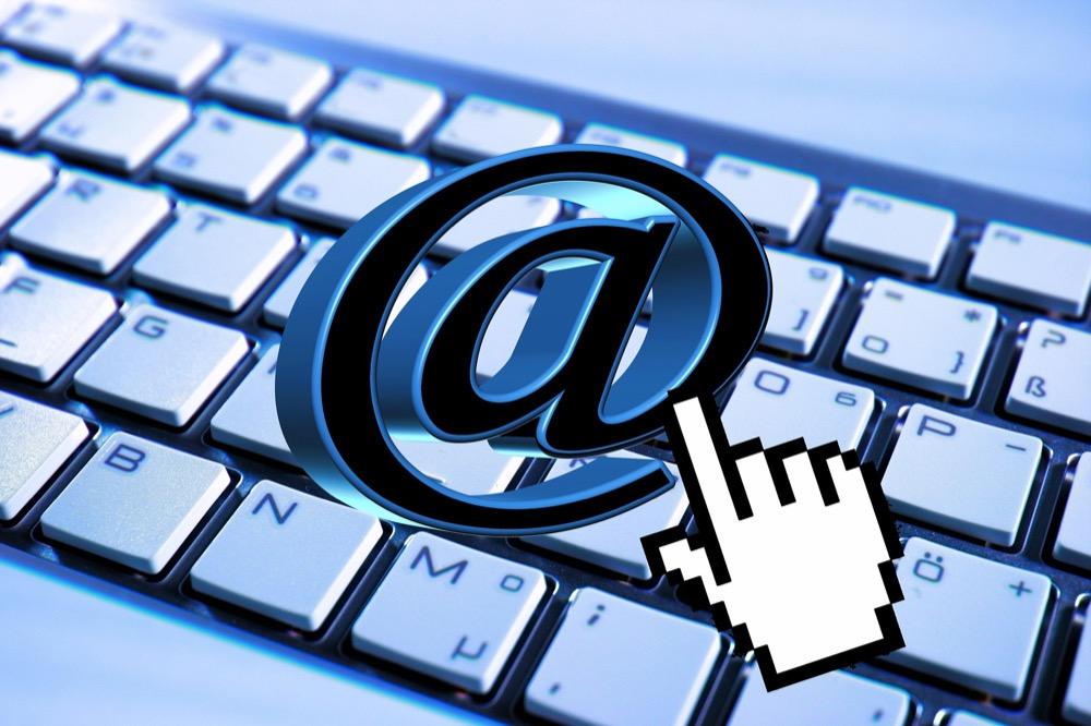 E-Mail Stock Photo